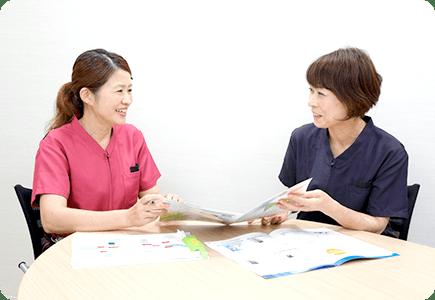 先輩看護師へのインタビュー