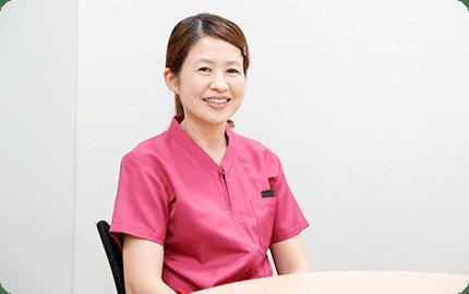 岡村 拓子さん 看護師 看護補助者 看護助手